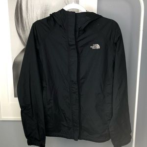 The North Face • Women's Black Rain Jacket Wind